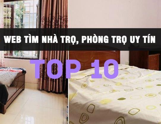 Top 10 website đăng tin cho thuê phòng trọ, nhà trọ tốt nhất 2020
