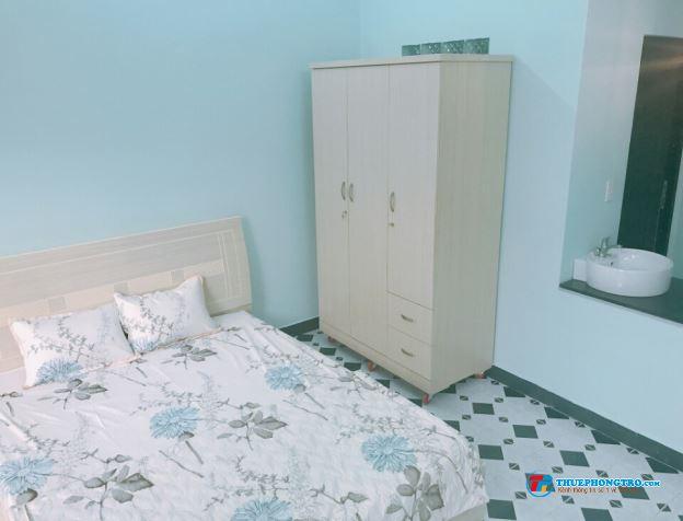 phòng cao cấp đủ tiện nghi gần ngã tư hàng xanh,DT28m2,giá5 triệu 0918856800 hoa hồng 30/phòng