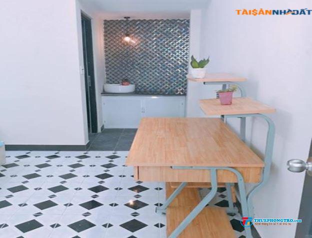 Phòng đủ tiện nghi gần đài truyền hình quận 1,DT30m2,giá5.1 triệu 0918856800