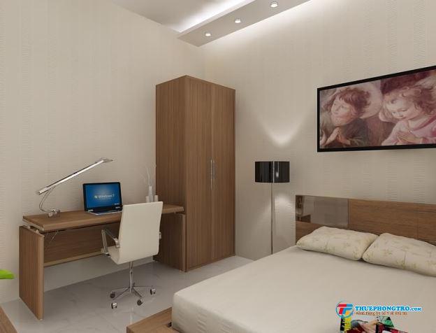 Cho thuê phòng cao cấp quận 1, đầy đủ tiện nghi, giá hấp dẫn, click nhanh.