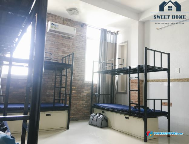 Cho thuê phòng KTX giường tầng giá rẻ trọn gói ở CMT8  Quận 10