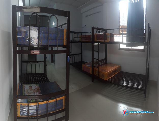Phòng trọ giường tầng có máy lạnh 1,3tr/người  Bình Thạnh