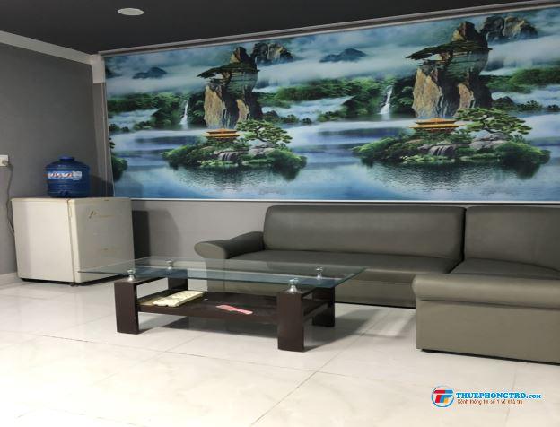 Cho thuê Phòng trọ cao cấp, hiện đại, đầy đủ tiện nghi. Mặt tiền đường D2 Nguyễn Gia Trí nối dài