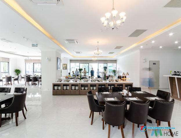 Căn hộ dịch vụ full nội thất cao cấp view sân bay có gym  hồ bơi  nhà hàng  phòng họp  tennis