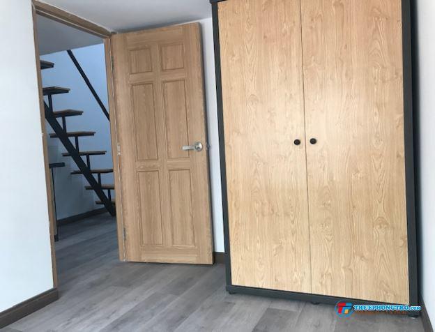Cần cho nữ hoặc cặp vợ chồng thuê phòng dạng căn hộ 1 phòng ngủ,gác lửng không đụng đầu