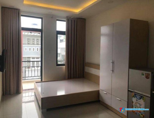 Phòng trọ cao cấp máy lạnh full nội thất  Đường Bình Long
