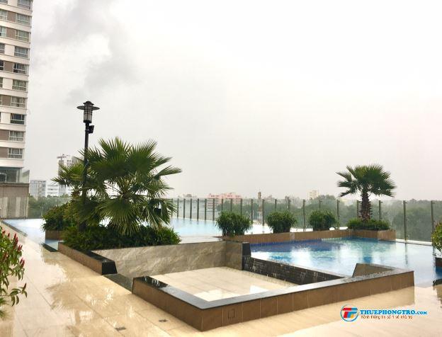Nhà mới 100  Cho thuê căn hộ 2PN Orchard Parkview, đầy đủ nội thất, view bao đẹp.