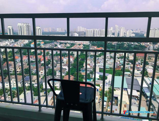 Phòng trong căn hộ full nội thất, View Phú Mỹ HƯng