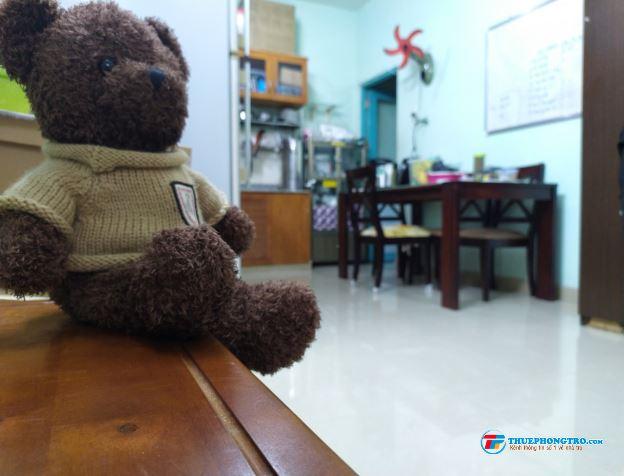 SHARE PHÒNG tại tầng 6 chung cư SACOMREAL 584  Quận Tân Phú