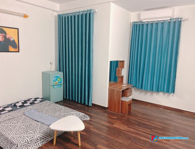 Phòng trọ full nội thất, toilet  ban công riêng, gò vấp