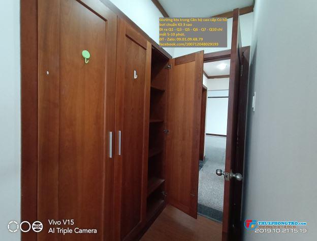 Cho NỮ thuê giường KTX trong căn hộ cao cấp có hồ bơi chuẩn KS 3 sao