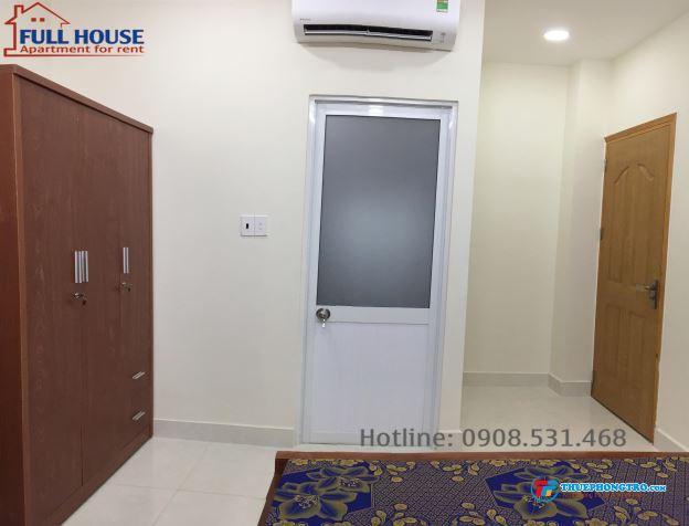 Phòng đầy đủ nội thất tiện nghi trung tâm Q7  Mới 100 có thang máy