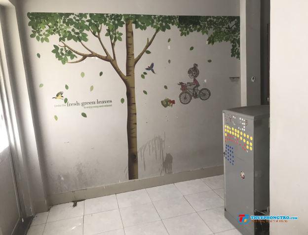 Phòng 25m2 gần HUFLIT, Bách Khoa, Y Phạm Ngọc Thạch,máy lạnh,giờ tự do