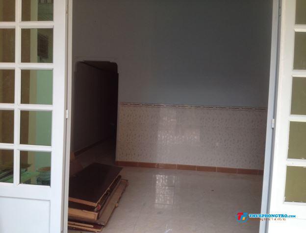 Nhà cho thuê gần TTHC DĨ An,hẽm 5m không ngập nước , khu vực an ninh, nhà mặt sau trường tiểu học