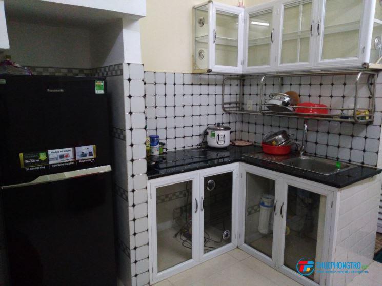 800k/tháng Bùi Viện - Phòng Nam ở ghép KTX máy lạnh full nội thất