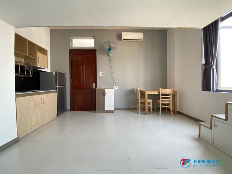 Cho thuê căn hộ dịch vụ, có gác, tiện nghi  Tân Bình