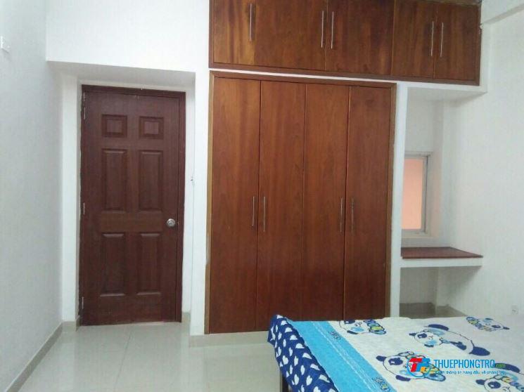 Cho Thuê Phòng 25m2 full nội thất, đường số 7 cư xá Chu Văn An,p.26, Quận Bình Thạnh