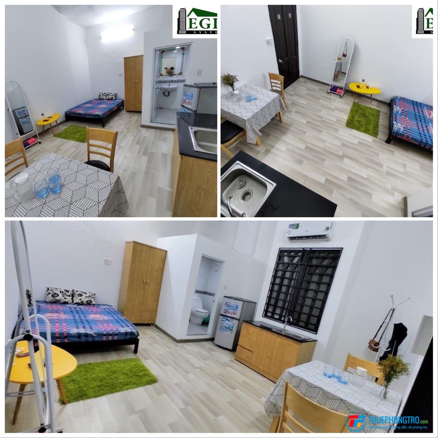 Căn hộ, phòng trọ đa dạng diện tích, không gian, khu vực Cộng Hòa, Tân Bình