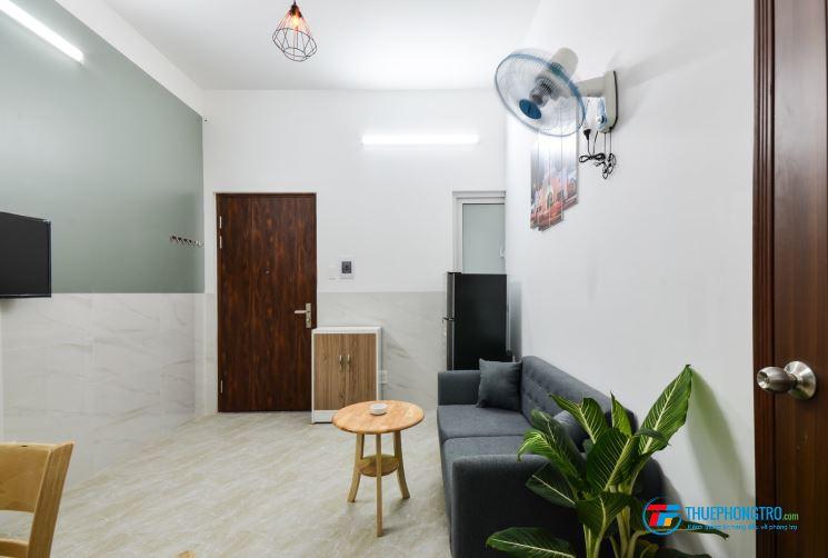 Cho thuê căn hộ dịch vụ, 1PN riêng, full nội thất Tân Bình