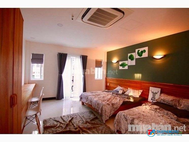 Cho thuê căn hộ dịch vụ ở gần Ngã 4 Bảy Hiền, CMT8,Q.Tân Bình