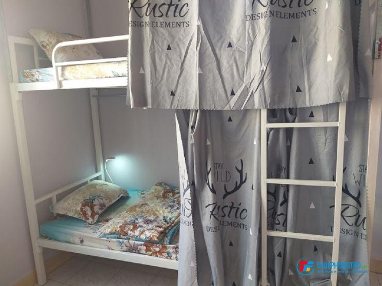 Homestay - KTX - Dorm - với không gian rộng rải xinh đầy đủ các tiện nghi và nội thất