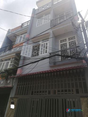 Cho thuê nhà 1/ nguyên căn 4.5x13 1Trệt 3 Lầu, Đường số 11, P11, Q.Gò Vấp