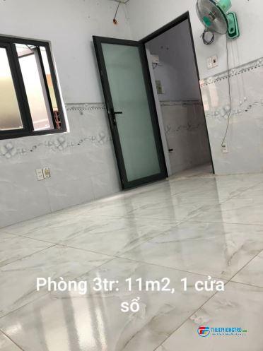 Cho thuê phòng quận 11 (cạnh đường 3 tháng 2 và đường Hồng Bàng) bao tiền điện, nước và wifi