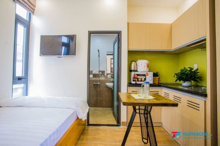 cho thuê phòng dạng căn hộ DV đầy đủ nội thất -cách mạng tháng tám -Q10