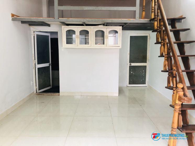 Phòng 40m2, CÓ GÁC, máy lạnh, 217/11/2B Bùi Đình Túy, giảm 10%