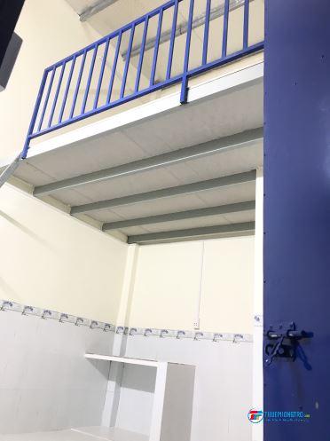Phòng trọ mới xây 100% có gác siêu đẹp siêu rộng, an ninh
