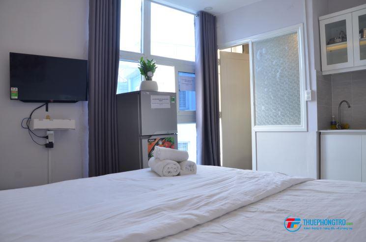 Phòng trọ full nội thất hẻm 212B Nguyễn Trãi P. Nguyễn Cư Trinh Quận 1 chỉ từ 4tr8