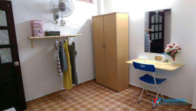 Cho thuê phòng giá rẻ, có máy lạnh, sạch sẽ và yên tĩnh khu Đầm Sen