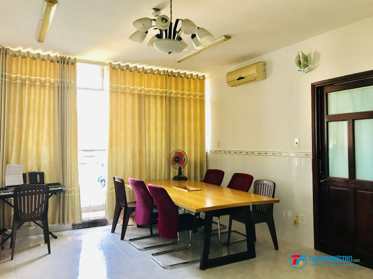 Cho thuê phòng tiện nghi trong chung cư Q2 - 1trieu300k