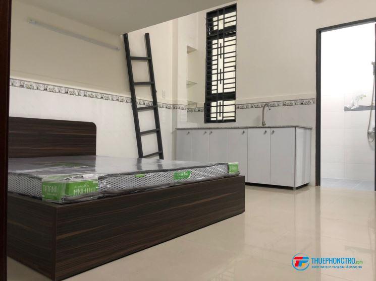 Cho thuê phòng 36 m2 mới xây dựng có nội thất tại số 89/47 (phòng có máy lạnh)
