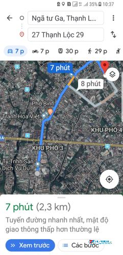 Cho thuê nhà nguyên căn phường Thạnh Lộc Quận 12