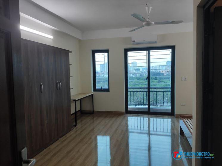 phòng đẹp, ban công thoáng mát, full đồ, điện nước giá rẻ tại Cầu Giấy, Nam Từ Liêm