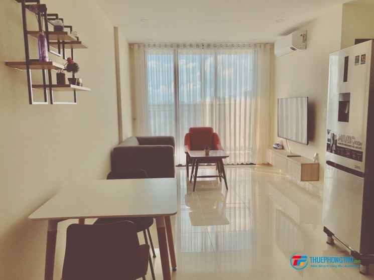 cho Thuê căn hộ  Full nội thất , giá 12tr/tháng , đầy đủ tiện ích, cách ĐH TĐT chỉ có 3p