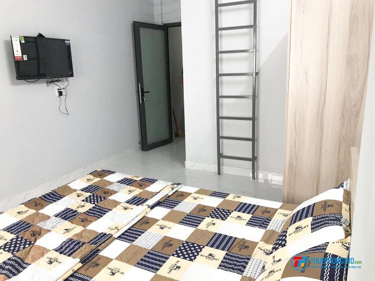 Cho thuê căn hộ dịch vụ trên 20m2