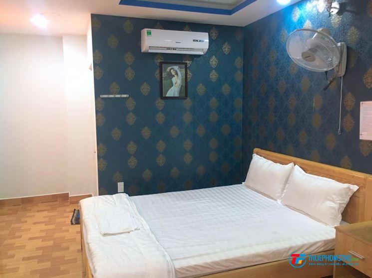 Phòng khách sạn full nội thất, cực kì sạch sẽ, cho thuê dài hạn