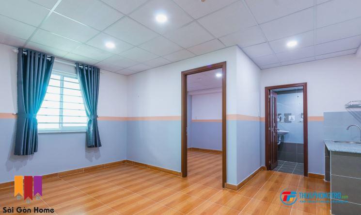 Phòng cho thuê 1PN 45m2 cầu Tham Lương, KCN Tân Bình, CVPM Quang Trung