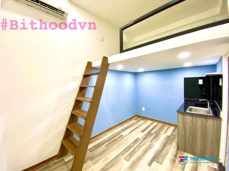 Cho thuê phòng phú nhuận đầu đủ nội thất