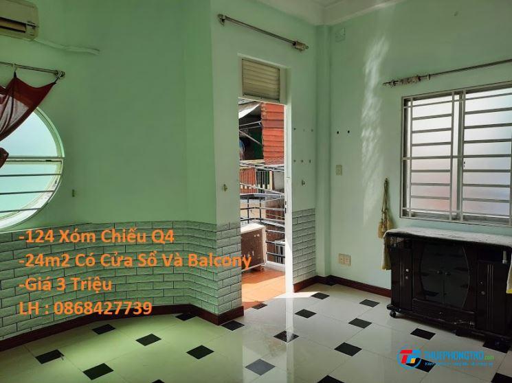 Còn 4 phòng trọ máy lạnh cho thuê Quận 4 Giá từ 1tr8 - 3tr -3tr3 -3tr8