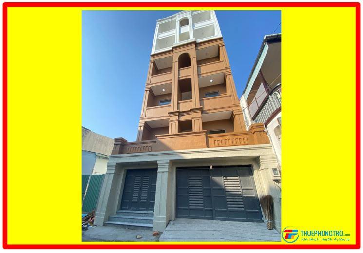 Phòng đẹp chuẩn căn hộ, có thang máy, bảo vệ 24/24, gần chợ Hành Thông Tây