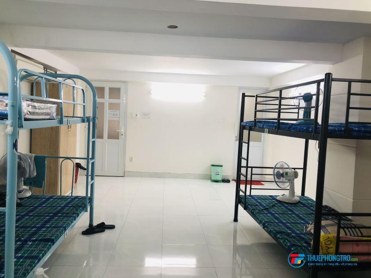 Cho thuê ký túc xá đường Nguyễn Hồng Đào thoáng mát, máy lạnh, máy giặt, tủ quần áo,giờ giấc tự do