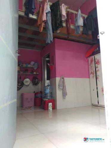 Cho thuê phòng trọ (GÁC LỬNG + VỆ SINH KHÉP KÍN) Diện tích: 20 m2