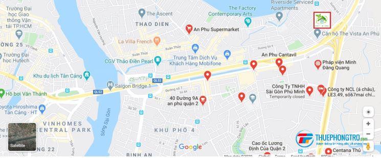 Phòng cho thuê full nội thất mới tinh giá chỉ 4,5 triệu, đằng sau chung cư The Vista An Phú, quận 2
