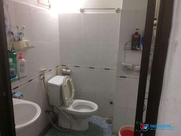 Cho thuê phòng có toilet, máy lạnh, banKong riêng, đầy đủ tiện nghi