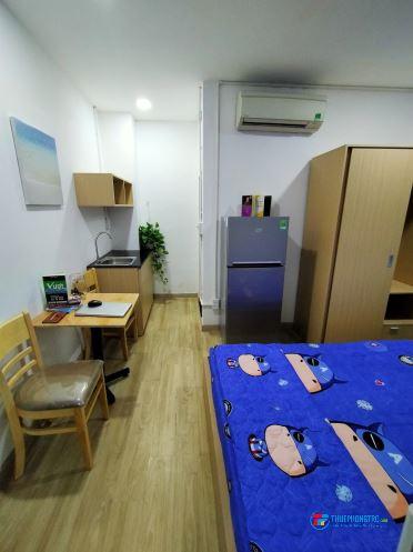 Phòng mới xây - full nội thất - an ninh tốt