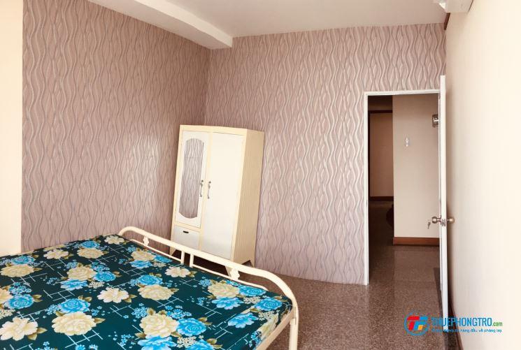 cho thuê gấp phòng full nội thất rộng 17m2, giá 2,7tr/th, có điều hòa- 187a lê văn lương