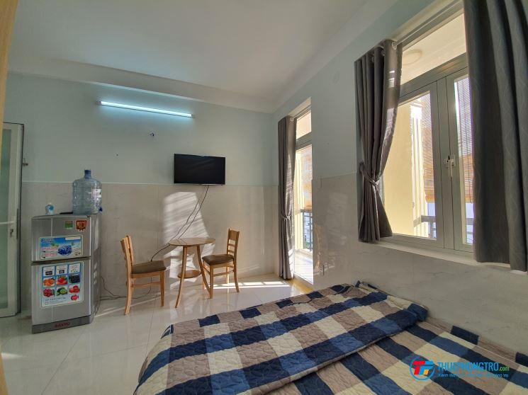 Cho thuê phòng Studio full nội thất tại Pasteur - trung tâm Quận 3